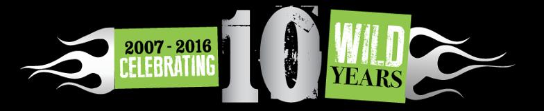 Bikefest 10 Year Logo