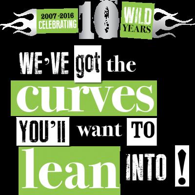 Ireland BikeFest Killarney 2016 Web Curves with 10 Year Logo