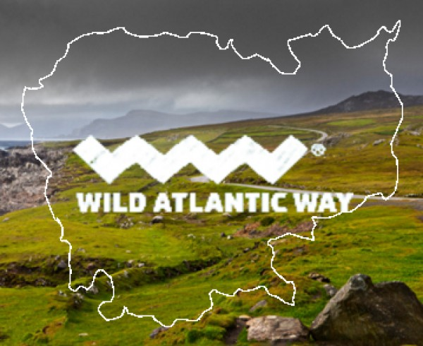 Ireland Bikefest Wide Atlantic Way Background Image