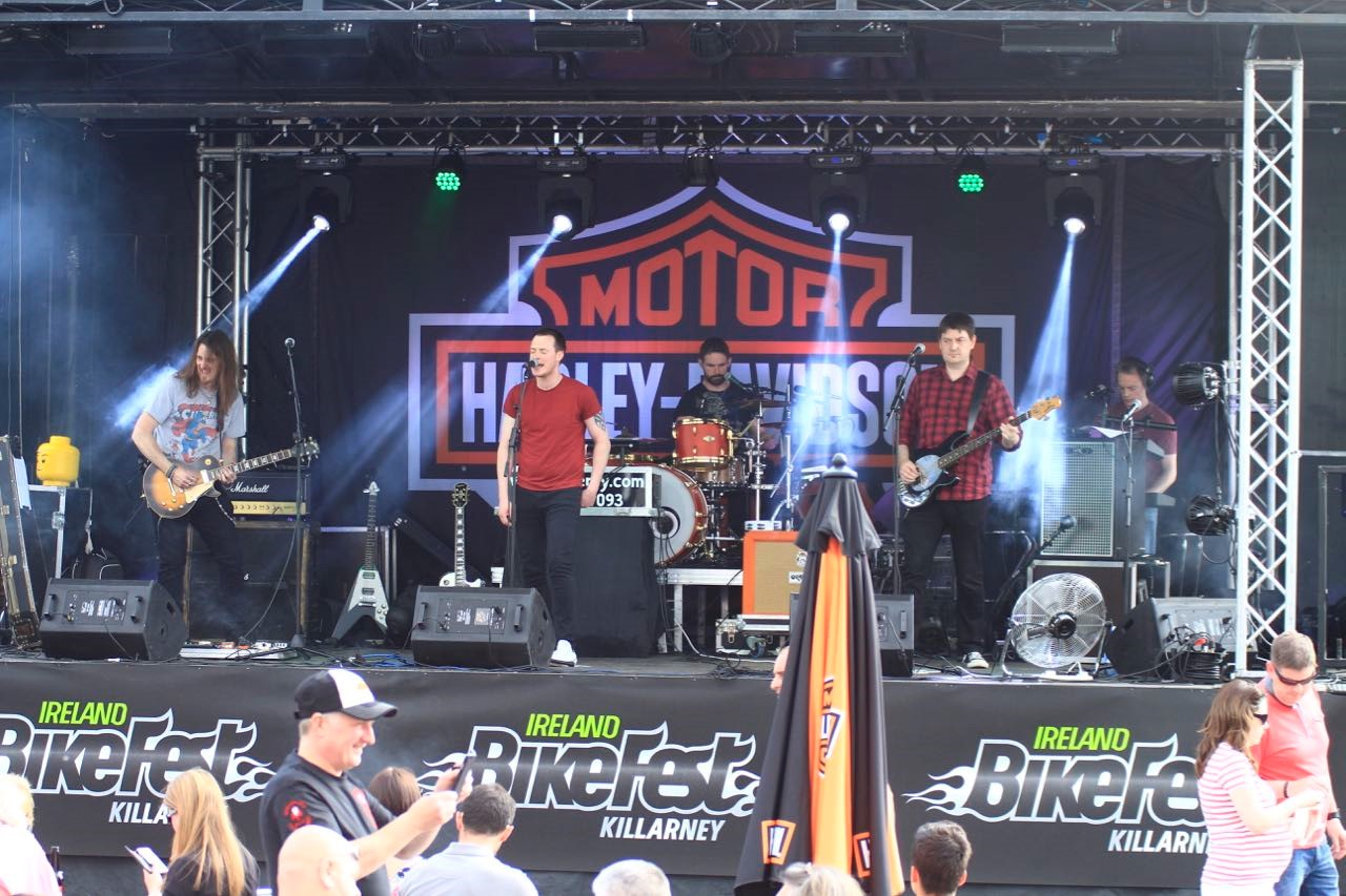 bikefest2016 outside stage