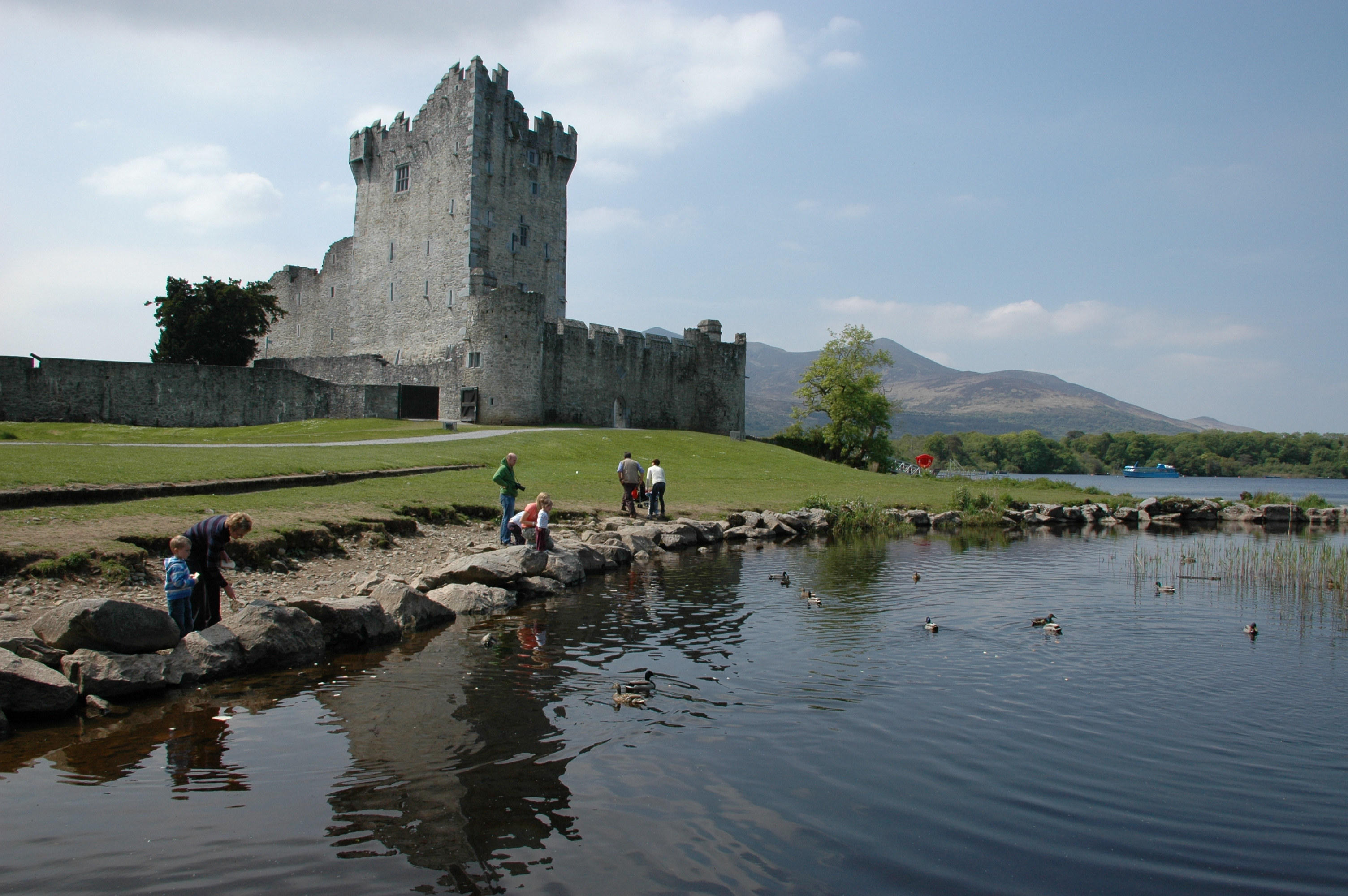 HERITAGE-DUCK FEEDING TIME BY ROSS CASTLE(J O'GRADY)