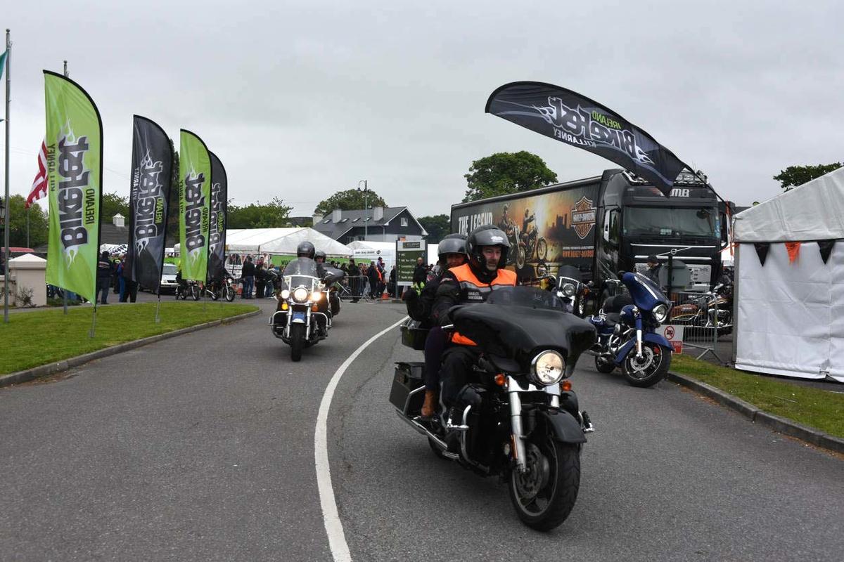 Ireland Bikesfest 2015. Photo: Don MacMonagle  e: info@macmonagle.com