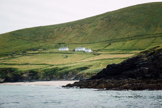 small-Ruined Village, Great Blasket Island, Co. Kerry
